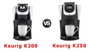 keurig k200 vs k250