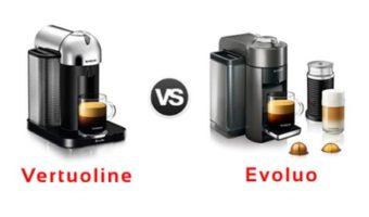 Nespresso vertuoline vs evoluo