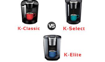 keurig k-classic vs k-select vs k-elite